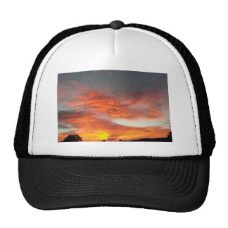 South Rim Grand Canyon Overlook Sunset Trucker Hat