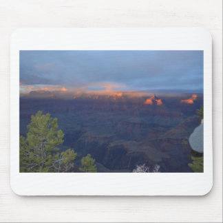 South Rim Grand Canyon Overlook Sunset Mouse Pad