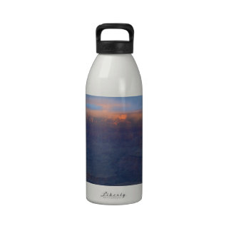 South Rim Grand Canyon Overlook Sunset Drinking Bottle