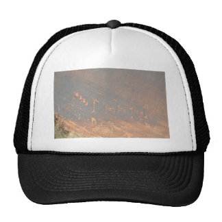 South Rim Grand Canyon Petroglyph Trucker Hat