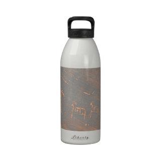 South Rim Grand Canyon Petroglyph Water Bottles