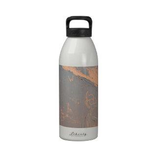 South Rim Grand Canyon Petroglyph Drinking Bottle