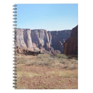 South Rim Grand Canyon Spiral Notebooks