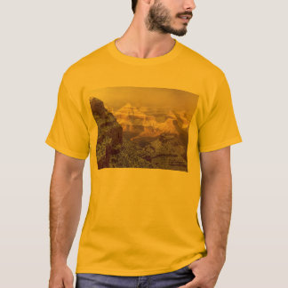South Rim of Grand Canyon in Winter Snow T-Shirt
