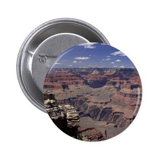 South Rim Of The Grand Canyon In Arizona 2 Inch Round Button
