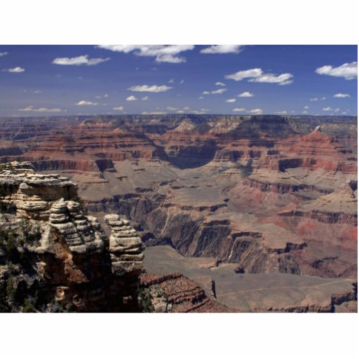 South Rim Of The Grand Canyon In Arizona Photo Cutouts