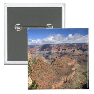 South Rim view of the Grand Canyon, Arizona, Pinback Button