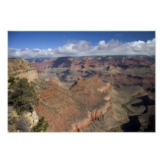 South Rim view of the Grand Canyon, Arizona, Poster