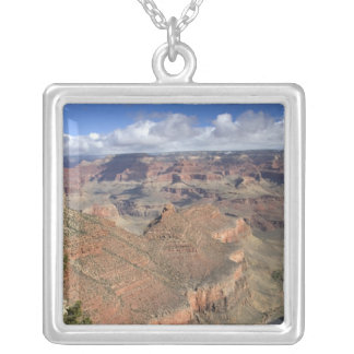 South Rim view of the Grand Canyon, Arizona, Silver Plated Necklace