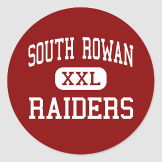 South Rowan - Raiders - High - China Grove Round Stickers