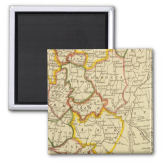 South Russia in Europe 2 Inch Square Magnet
