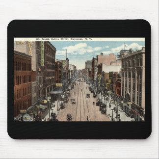 South Salina St Syracuse NY Vintage 1917 Mouse Pad