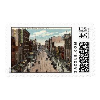 South Salina St Syracuse NY Vintage 1917 Stamps