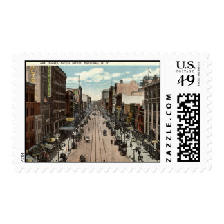 South Salina St Syracuse NY Vintage 1917 Postage Stamp