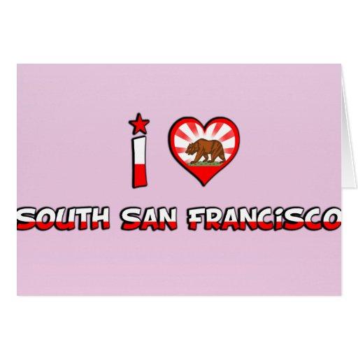 South San Francisco, CA Greeting Card
