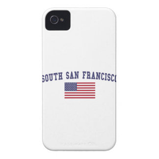 South San Francisco US Flag iPhone 4 Cases