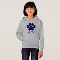 South School Hoodie with Paw