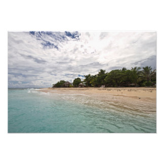 South Sea Island Beach 2, Fiji Photo Print