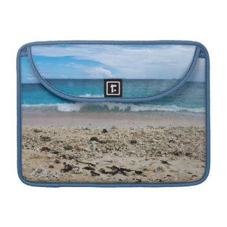 South Sea Island Beach, Fiji MacBook Pro Sleeve
