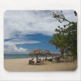 South Sea Island Beach, Fiji Mouse Pad
