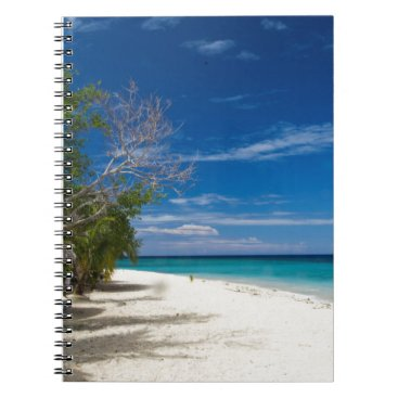 Beach Themed South Sea Island Beach, Fiji Notebook