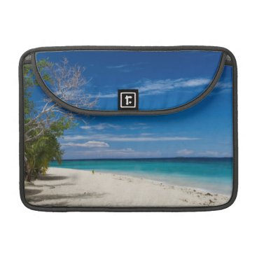 Beach Themed South Sea Island Beach, Fiji Sleeve For MacBook Pro