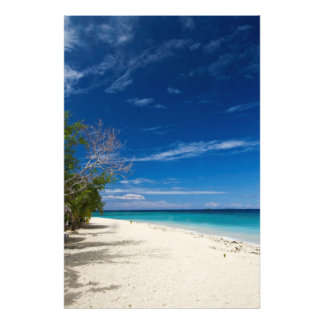 South Sea Island Beach Photo Print