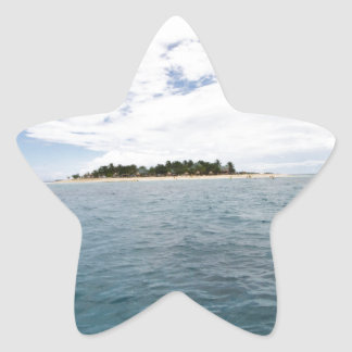 South Sea Island, Fiji Star Sticker