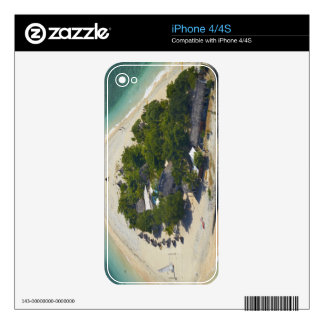 South Sea Island, Mamanuca Islands, Fiji iPhone 4S Decals