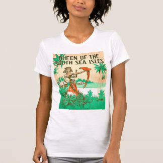South Sea Queen Ladies light short sleeve T-Shirt