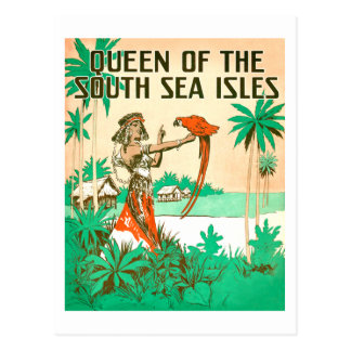 South Sea Queen Postcard
