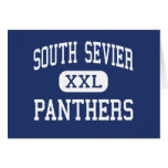 South Sevier Panthers Middle Monroe Utah Greeting Cards
