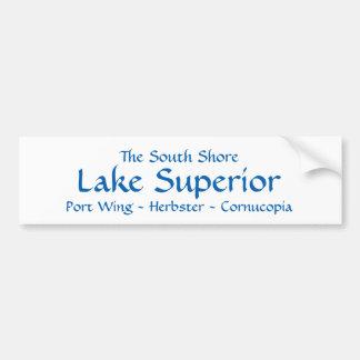South Shore Lake Superior Bumper Sticker