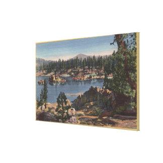 South Shore View of Boulder Bay Canvas Print