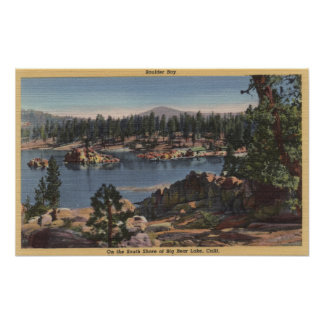 South Shore View of Boulder Bay Poster