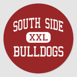 South Side - Bulldogs - High - Memphis Tennessee Classic Round Sticker