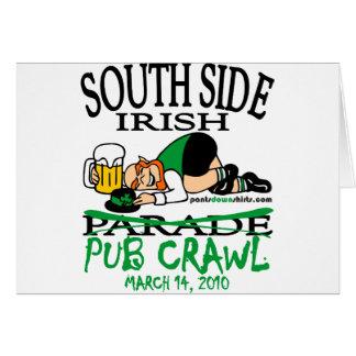 SOUTH SIDE IRISH PUB CRAWL CARDS