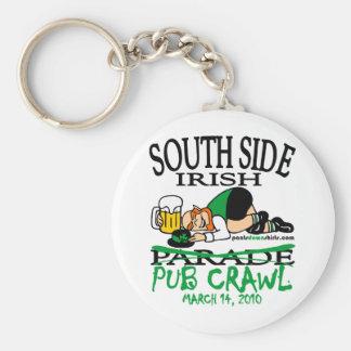 SOUTH SIDE IRISH PUB CRAWL KEYCHAINS