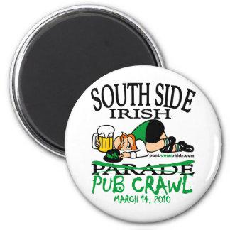 SOUTH SIDE IRISH PUB CRAWL MAGNET