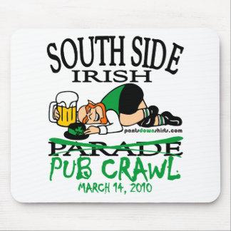 SOUTH SIDE IRISH PUB CRAWL MOUSE PAD
