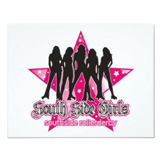 South Side Roller Derby Invitation