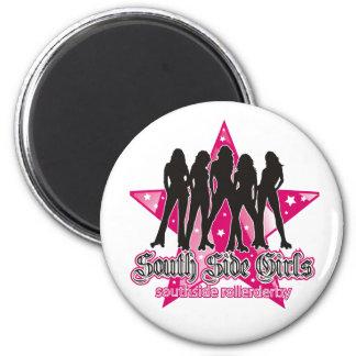 South Side Roller Derby magnet