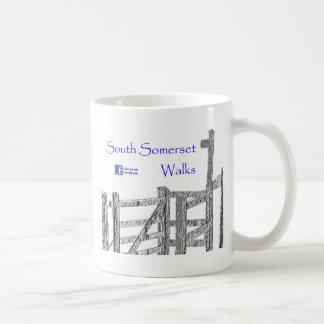 South Somerset Walks Basic White Mug