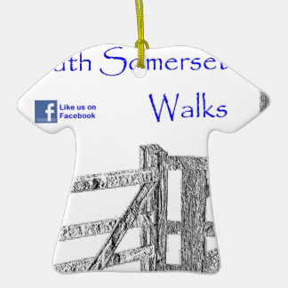 South Somerset Walks Ceramic T-Shirt Decoration