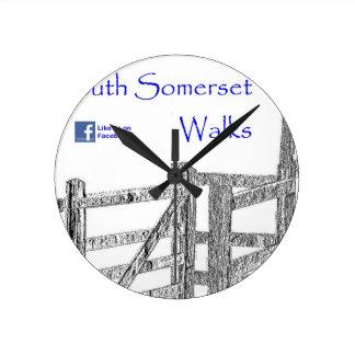 South Somerset Walks Clock