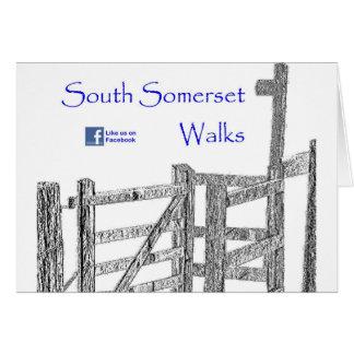South Somerset Walks Greeting Card
