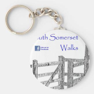 South Somerset Walks Key Chains