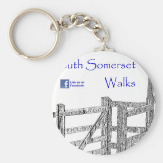 South Somerset Walks Keychain
