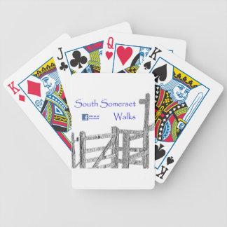 South Somerset Walks Poker Cards
