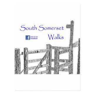South Somerset Walks Postcard